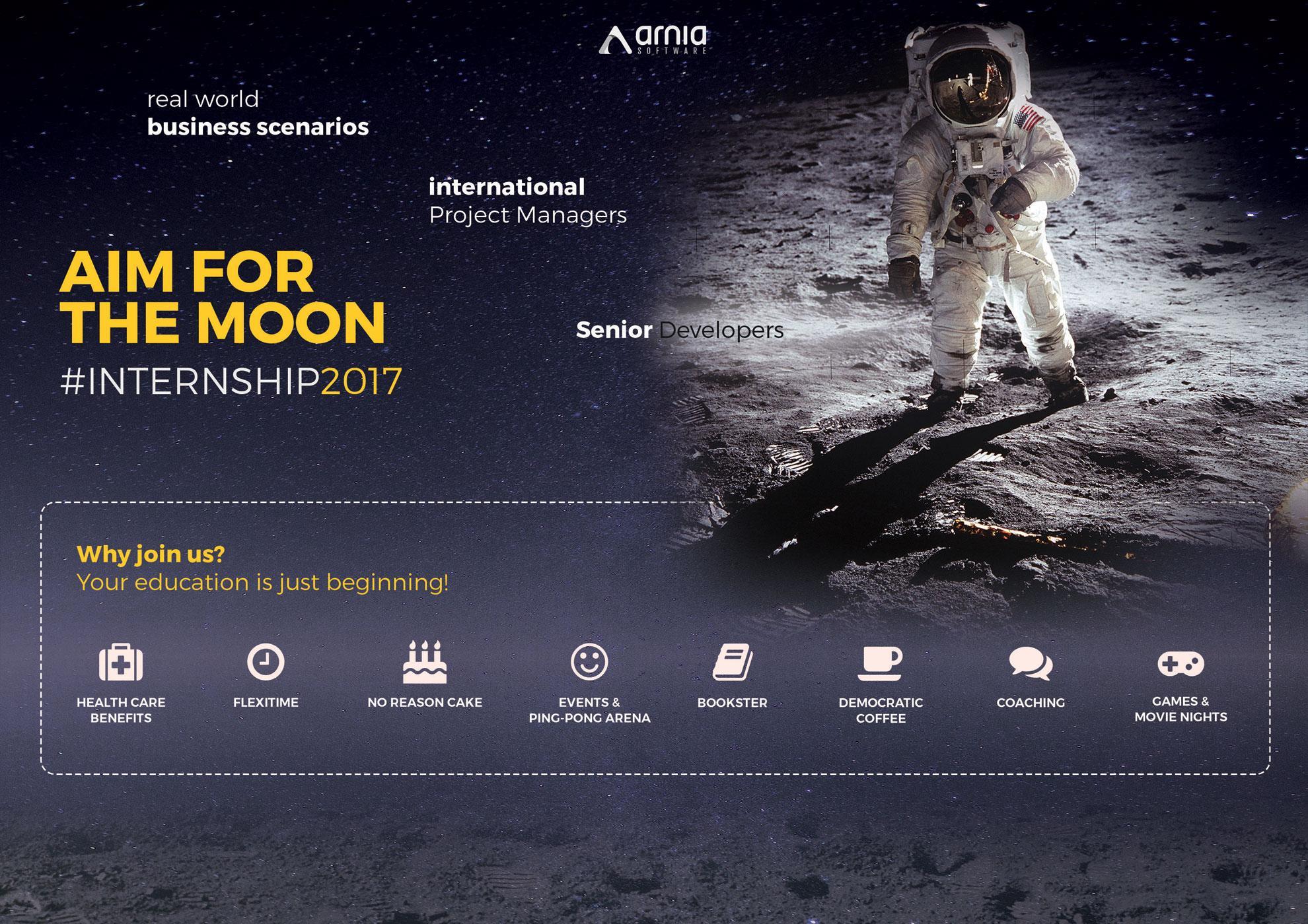 Aim for the moon internship