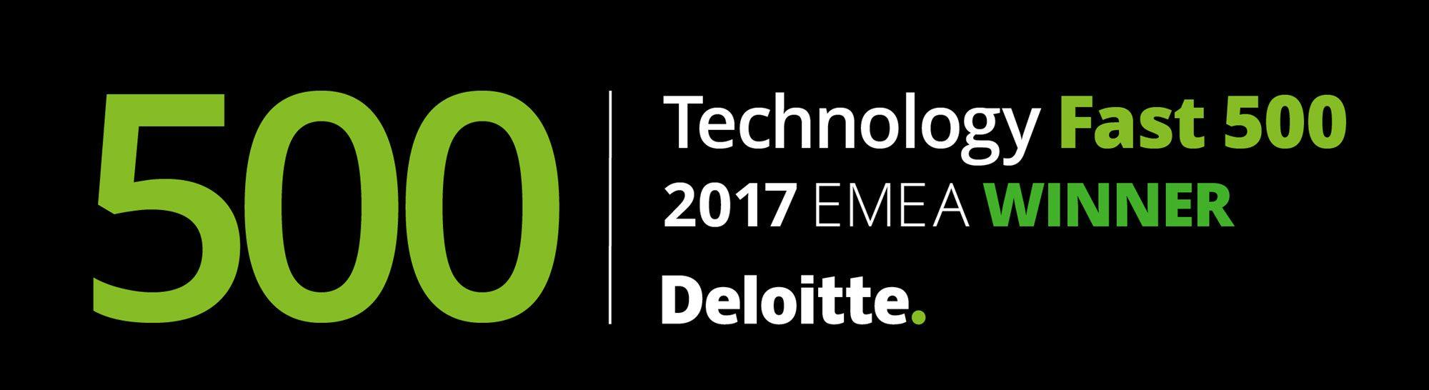 We Ranked in Technology Fast 500 EMEA